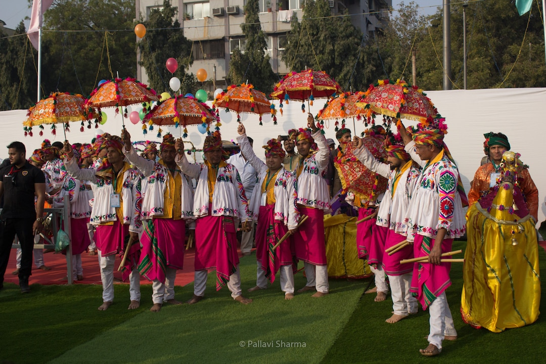 Garba at Inauguration of International Kite Festival