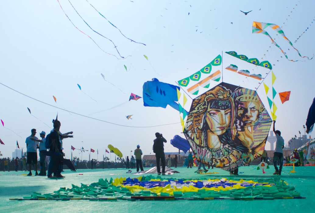 Brazilian kite at International Kite Festival