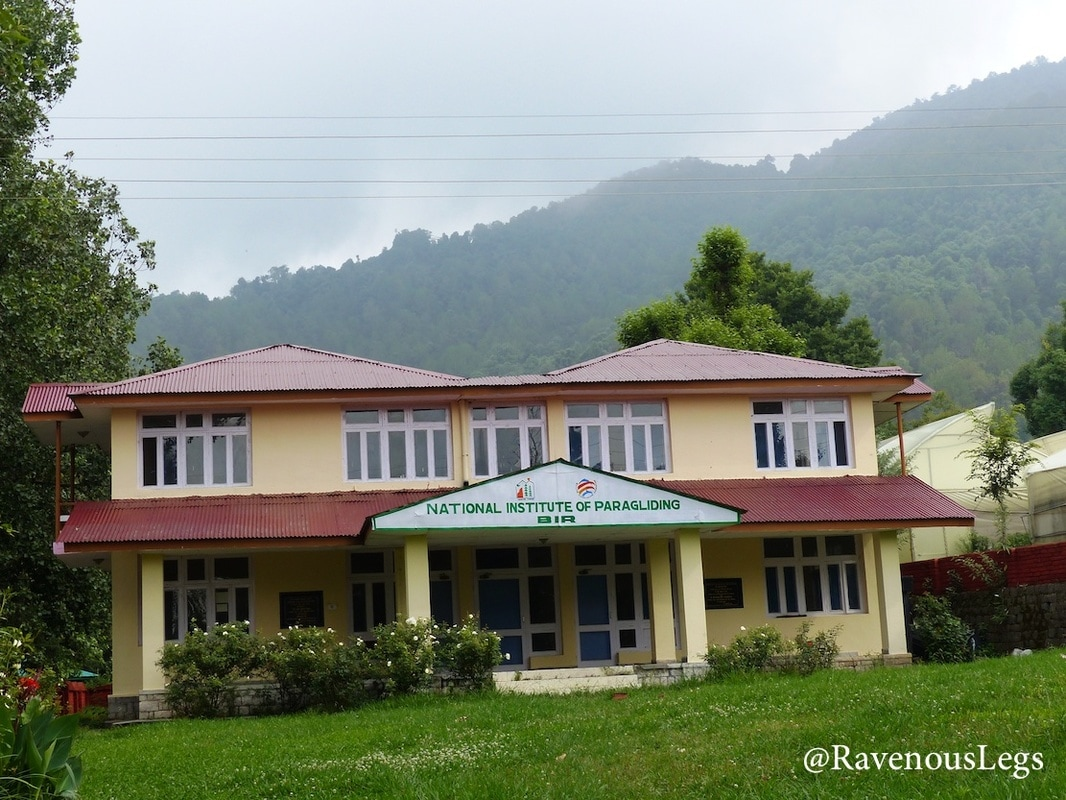National Institute of Paragliding in Bir, Himachal Pradesh