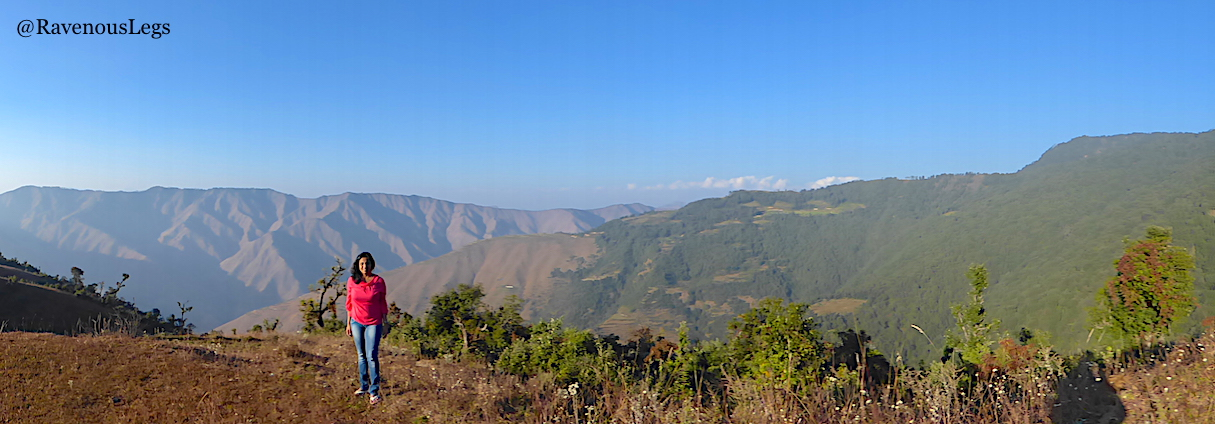 Mountain View from The Goat Village, Nag tibba