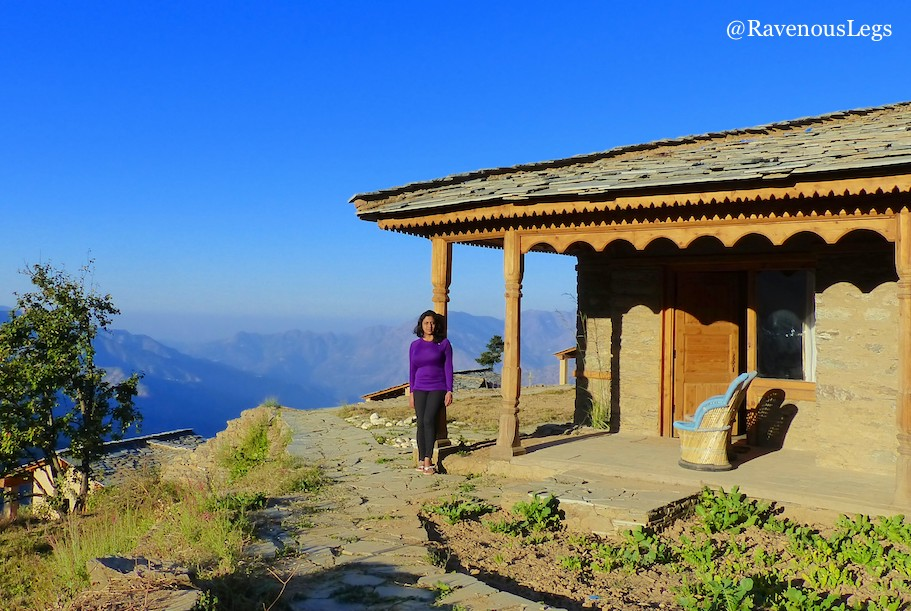 Garhwali Cottage in The Goat Village, Nag tibba