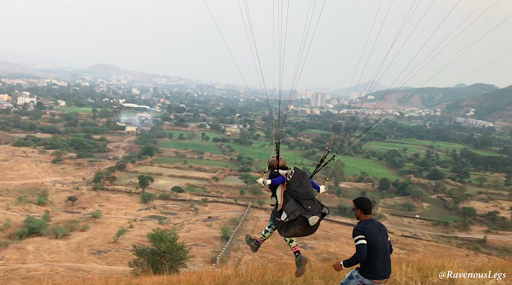 Paragliding course in Kamshet, India - Nirvana Adventures