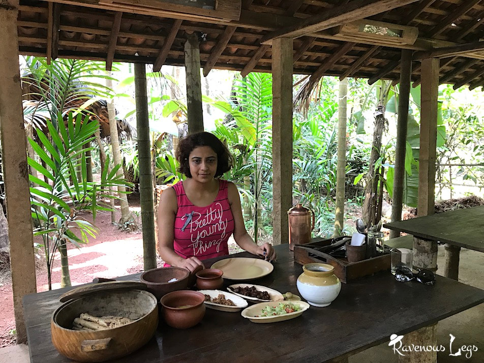 ​Home-cooked organic meals at Maachli homestay - Farm to table food