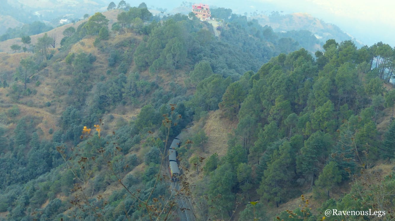 Kalka-Shimla toy train - UNESCO world heritage site