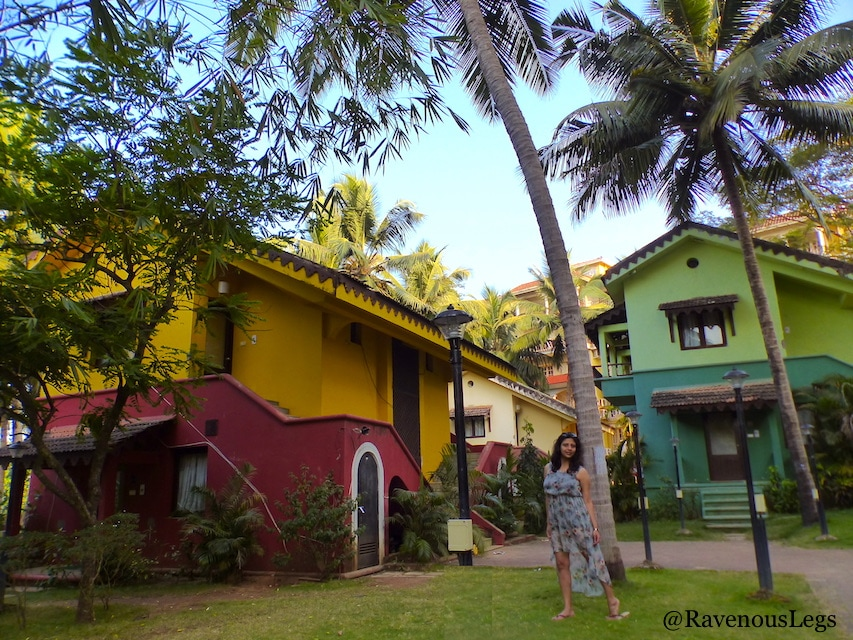 Goan cottages at Miramar Residency