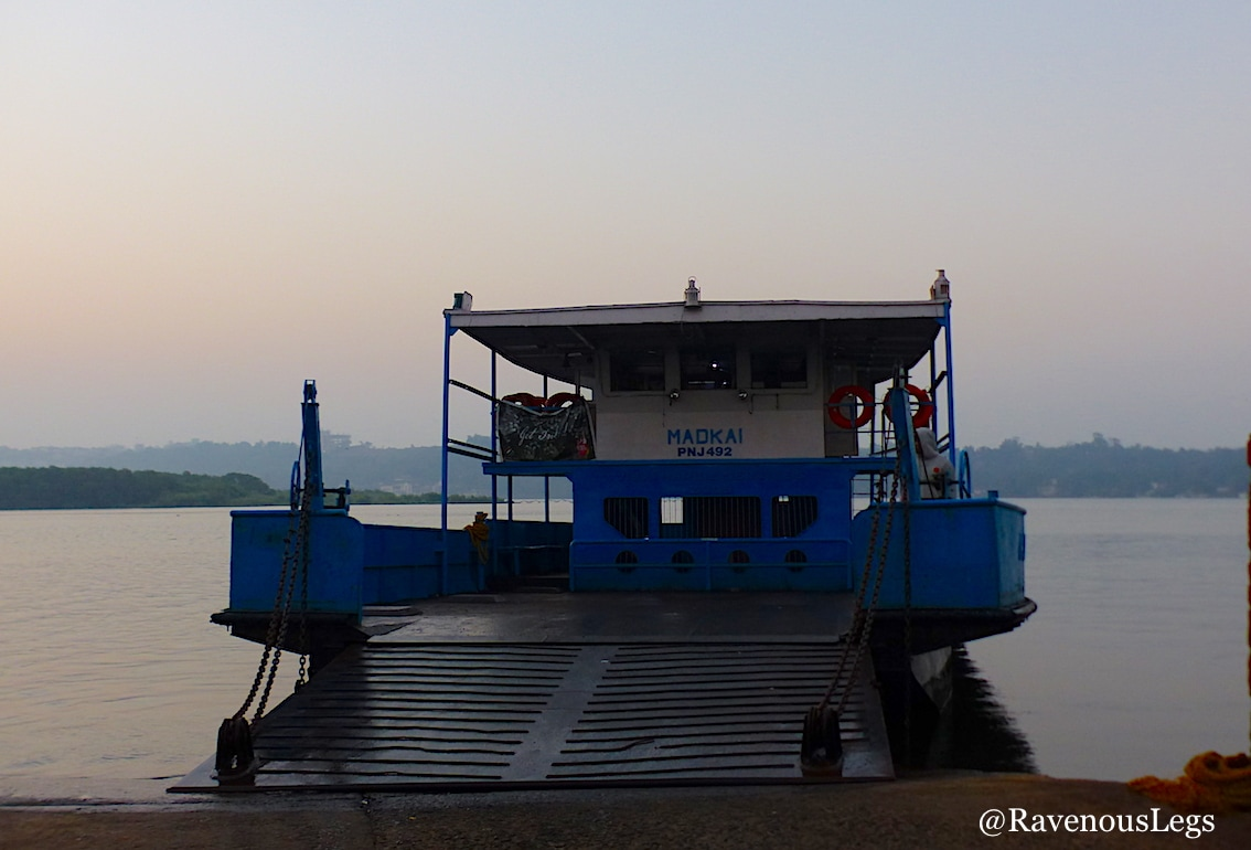 Ferry at Ribandar jetty