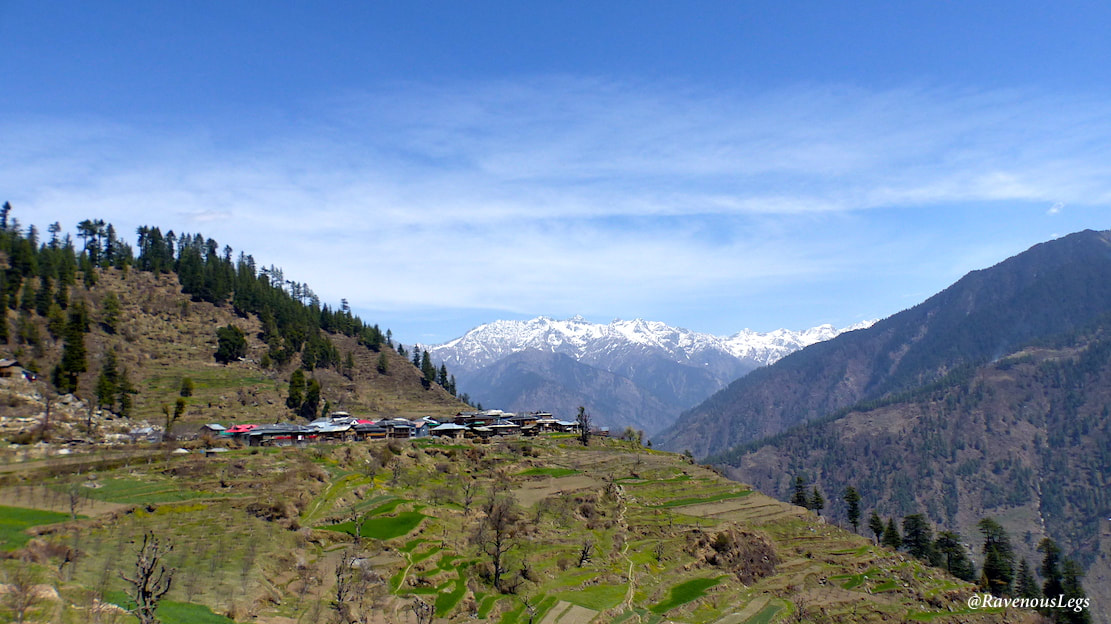 Sharchi Village in Tirthan Valley, Himachal Pradesh