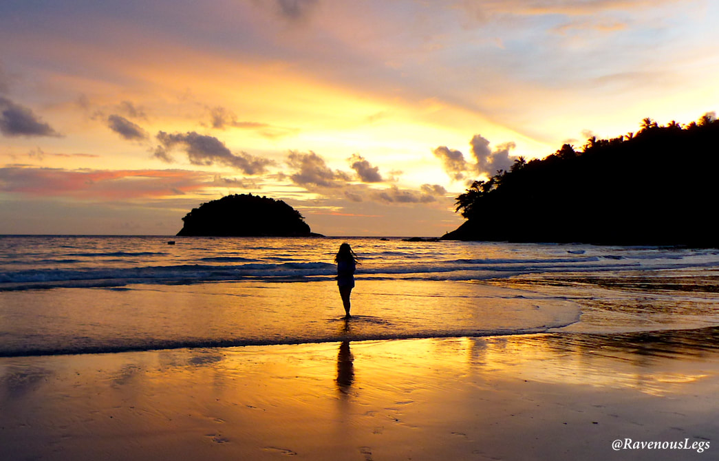 Sunset at Kata Beach, Phuket