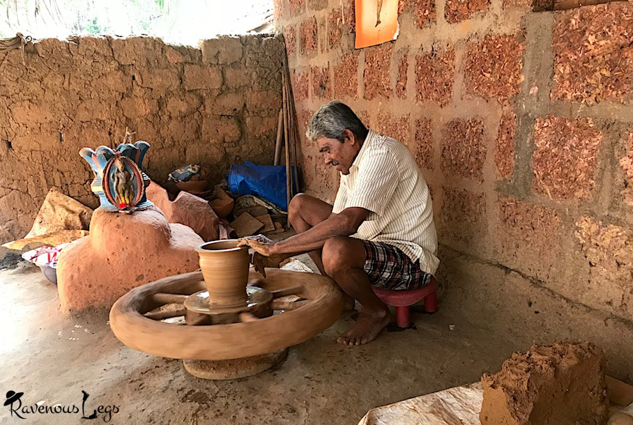 Learning & buying Pottery in Parule village, Konkan coast, Maharashtra