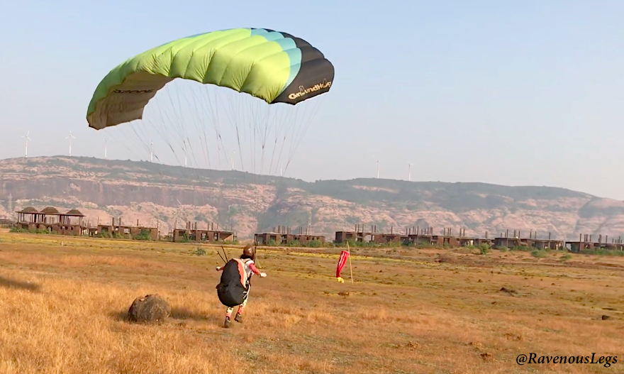 Ground Handling - Paragliding course in Kamshet, India - Nirvana Adventures