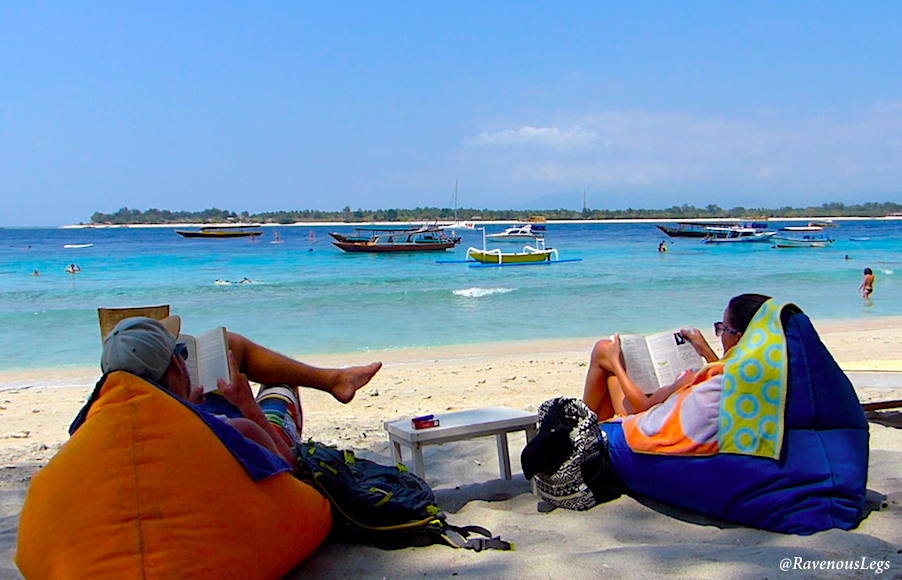 Leisure time at Gili Trawangan, Indonesia